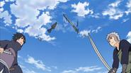 Izuna e Tobirama são salvos