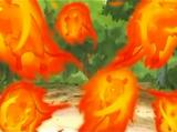 Jutsu Prohibido: Ratas de Fuego