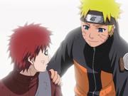 La amistad de Gaara y Naruto