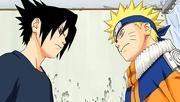 Sasuke e Naruto (Mangá Colorido)