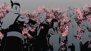 Celebração no casamento de Naruto e Hinata