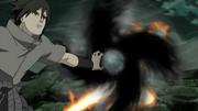 Elemento Llama Rasen Shuriken Anime