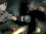 Elemento Llama: Rasen Shuriken