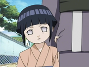 Hinata as a child