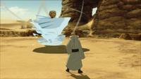 Liberação de Água - Técnica do Turbilhão do Dragão de Água (Gengetsu - Game)