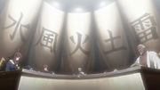 Reunión de los Cinco Kages Anime