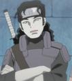 Shizuma con el chaleco táctico de Kirigakure