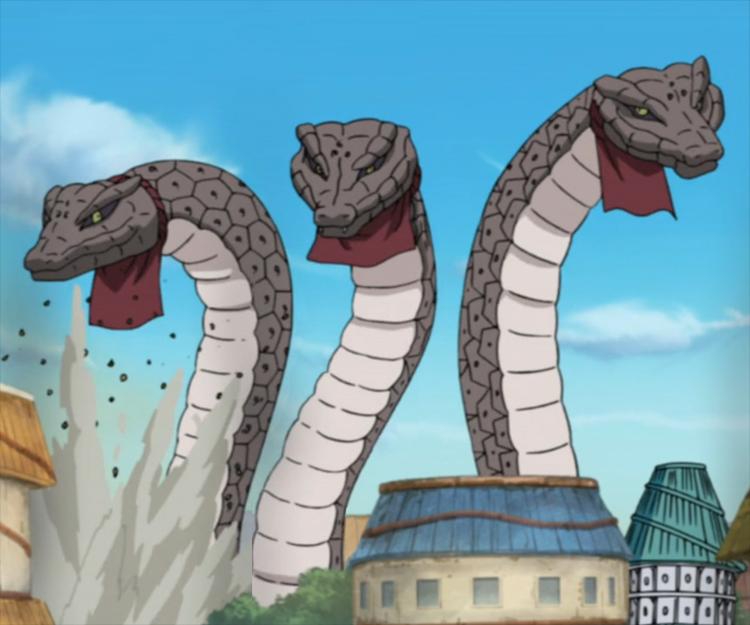 Three Giant Snakes | Narutopedia | FANDOM powered by Wikia
