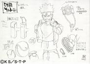 Arte Pierrot - Naruto Genin