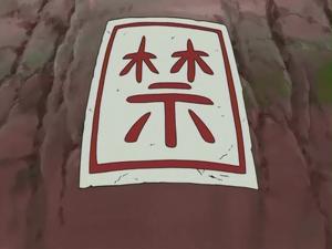 Barrera de los Cinco Sellos Anime