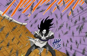 Jutsu Clon de Sombra Shuriken Manga