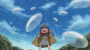 When sad, Yota can create rain…