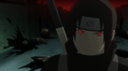 Itachi a frente do massacre