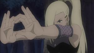 Jutsu Cambio de Cuerpo y Mente Anime