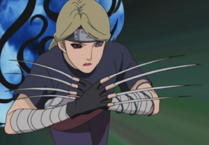 Jutsu Crecimiento de Uñas Anime