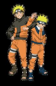 Naruto dans les deux parties