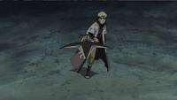 Naruto lança Hiraishin Kunai