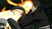 Naruto le da un cabezazo a Obito