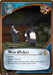 Ordenes Nuevas Cartas