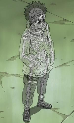 Jutsu Huésped de Insectos Destructivos Anime