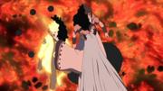 Kaguya e Zetsu Negro captura Naruto e Sasuke