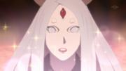 Kaguya se impressiona com a Técnica Sensual de Naruto