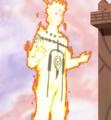 Naruto en su Modo Chakra del Nueve Colas