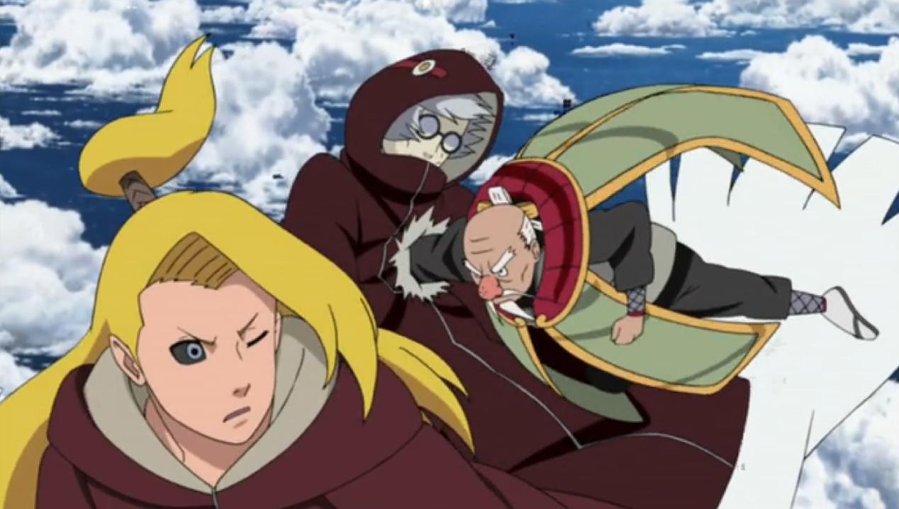 Imagem - Onoki acerta Kabuto.PNG   Wiki Naruto   FANDOM ...