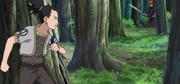 Shikamaru enfrentando a Yahiko