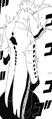 Vista trasera de cuerpo completo del Ōtsutsuki Desconocido