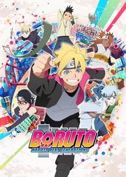 Arte promocional Boruto Naruto Next Generations Anime