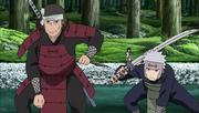 Butsuma y Tobirama aparecen