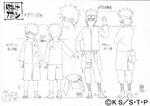 Diseño de Kakashi joven por Pierrot