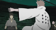 Hagoromo para a Sasuke