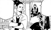 O jōnin encontra o vaso consertado