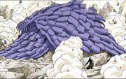 Sasuke protege a los demas con Susanoo HD