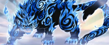 …which transforms them into a tailed beast.