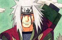 Jiraiya en el manga