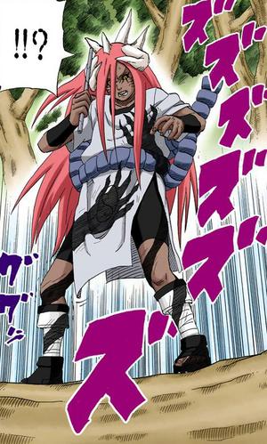Jutsu de Sombra Estrangulante Manga