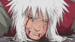 La voluntad inquebrantable de no rendirse de Jiraiya