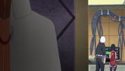 Naruto escucha la revelación sobre la madre de Sarada