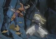 """Naruto lucha contra el """"Guerrero Fantasma"""""""