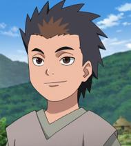 Taizō as a child