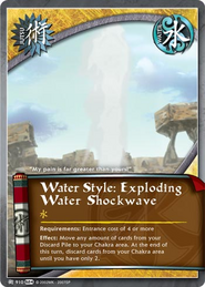 Water Style: Exploding Water Shockwave
