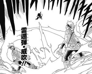 Bala de Elemento Rayo Aliento Poderoso Manga
