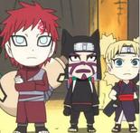 Hermanos de la Arena Naruto SD
