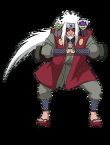 Jiraiya Sennin Mōdo (Render)