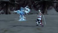 Liberação de Água - Chuvisco (Kisame - Game)