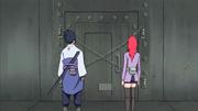 Sasuke e Karin encontram Jugo