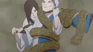 Treinamento de Orochimaru e Mitsuki